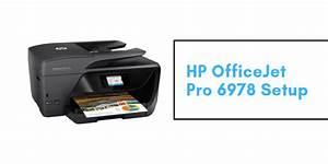 Hp Officejet Pro 6978 Printer Setup - Tv  Movies