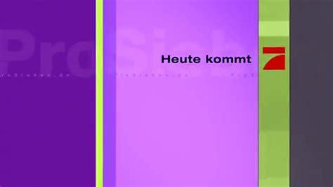 Prosieben serien, videos und livestream. ProSieben Germany Redesign 2001 - YouTube