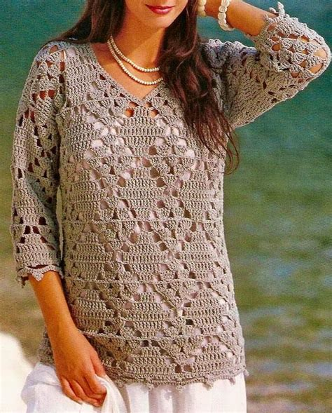 easy crochet sweater crochet sweaters crochet tunic pattern beautiful simple