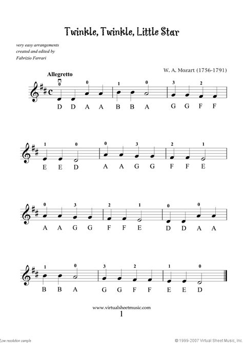 About canon in d and gigue. Very Easy Collection, part I sheet music for violin solo PDF