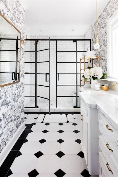 bathroom wallpaper ideas   inspire