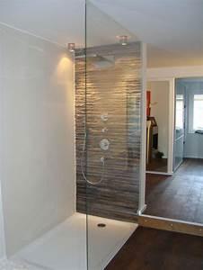 Bodenfliesen Für Dusche : begehbare dusche mit glas und duschwanne bad pinterest ~ Michelbontemps.com Haus und Dekorationen