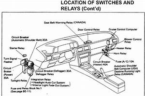 Schematic For 2004 Toyota 4runner Fuse Box  Schematic