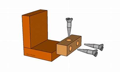 Furniture Cabinet Knock Down Fittings Blocks Joinery
