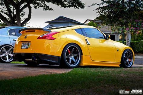 nissan yellow yellow nissan 370z cars pinterest