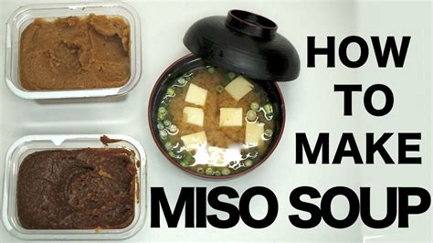 how to make soup how to make miso soup vidshaker