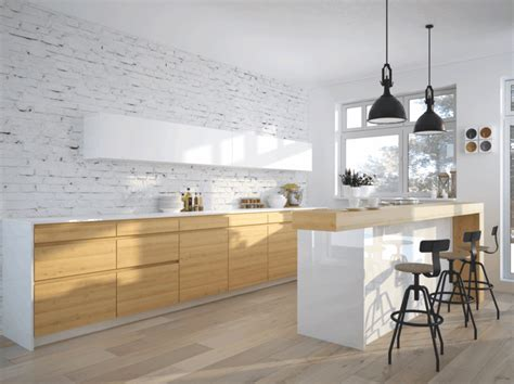 cuisine style scandinave intérieur moderne inspirations scandinaves