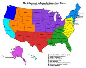 New England Map United States of America
