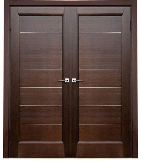 1 door wall solid wooden door