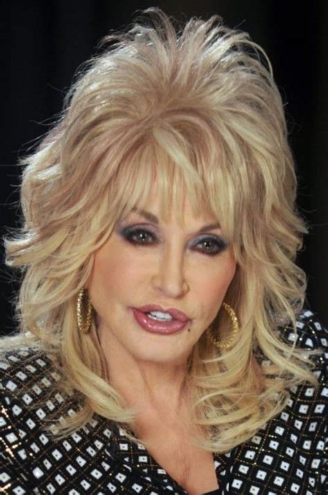 stunning dolly parton haircut  celebrity hairstyles
