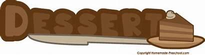 Word Dessert Chef Clipart