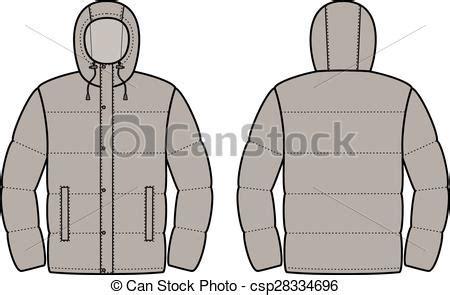 eps vectors   jacket vector illustration  mens