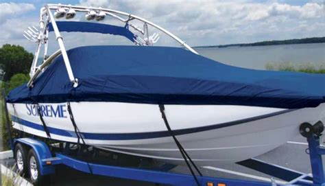 Boat Cover Tower Support by Carver 174 Custom Fit Boat Covers From Rnr Marine