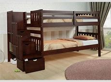 solid wood bunk beds twin over full 28 images solid