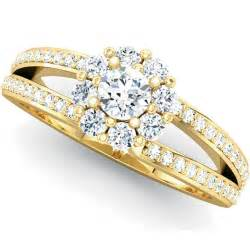 gold engagement rings for gold engagement rings set wedding rings