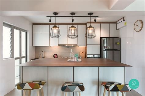 Kitchen Cabinets Color Ideas - 20 scandinavian style hdb flats and condos to inspire you the singapore women 39 s weekly