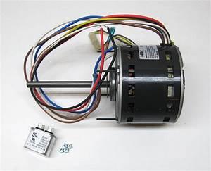 Furnace Air Handler Blower Motor 1  3 Hp 1075 Rpm 230 Volt