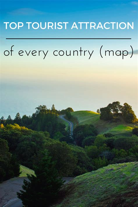 top tourist attraction of every country with maps