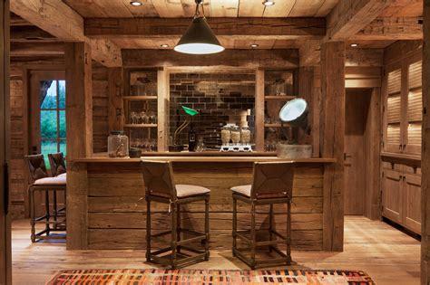 distinguished rustic home bar designs       drink