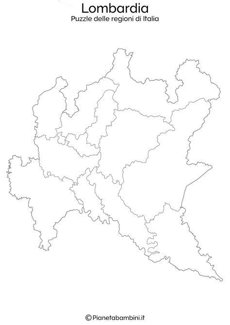 puzzle delle regioni ditalia da stampare pianetabambiniit