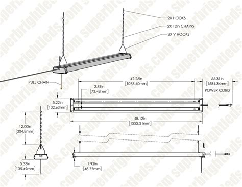 linkable led shop light  led garage light