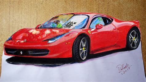 How To Draw Car Step By Step Easy, 3d Car Driving, Car