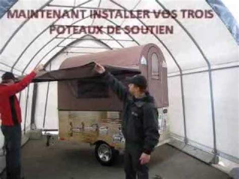 Armoire Suspendue Pour Tente Roulotte by C Extrem Inc Fabricant De Mini Tente Roulotte R 233 Tractable