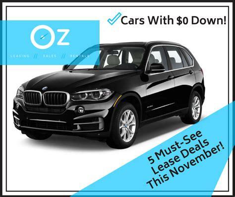 Best Car Lease Deals In November 2017  Luxury Car Leasing