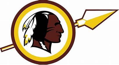 Redskins Washington Transparent Clipart Logos Sports Concepts