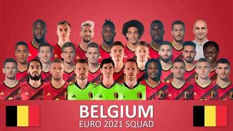 Belgium Euro 2021 Squad Hazard Firdausm Drus