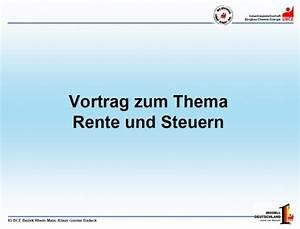 Steuern Für Rente Berechnen : ig bce blog aufgeweckte alte rente steuern im m rz 2010 ~ Themetempest.com Abrechnung