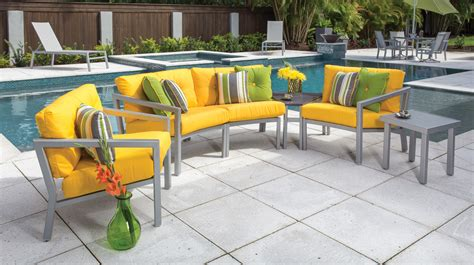 Patio Furniture Without Cushions Modern Outdoor Chair Seat