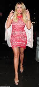 Billie Faiers Looks Stunning At Her In The Style Fahion Lines Launch Party Daily Mail Online