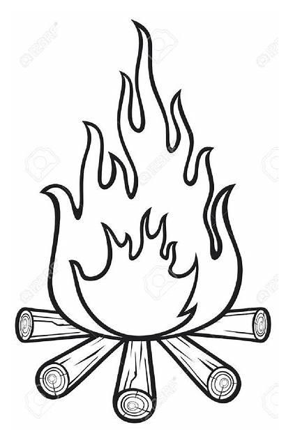Clipart Fire Clip Vector Clker Hi