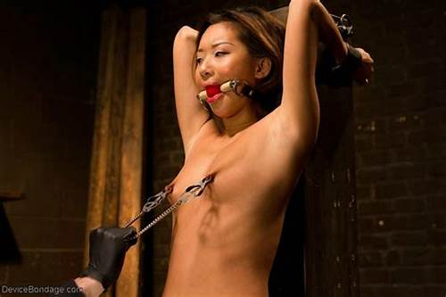 Alina Li And Oriental Newbie #Asian #Newcomer #Gets #Her #First #Taste #Of #Bondage