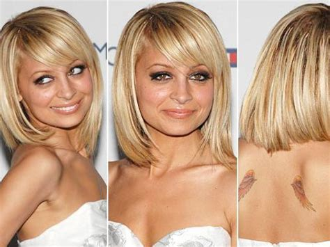 Bobs, Fringes And Side Parting On Pinterest