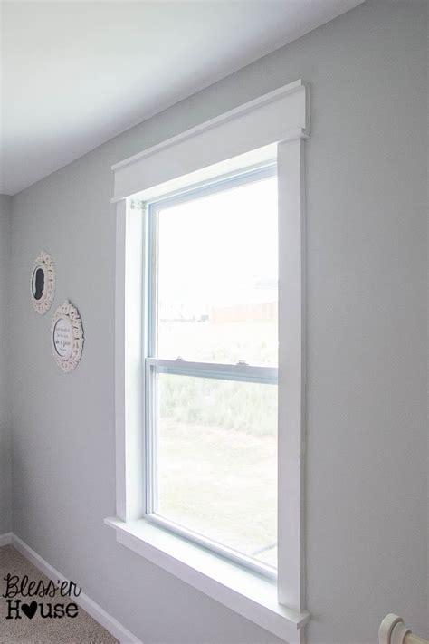 Changing Window Sills by Diy Window Trim The Easy Way