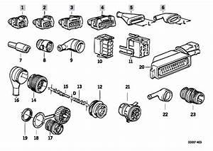 Original Parts For E34 524td M21 Sedan    Engine Electrical