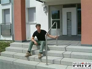Treppengeländer Außen Holz : treppengel nder au en 03 02 metallbau fritz ~ Michelbontemps.com Haus und Dekorationen