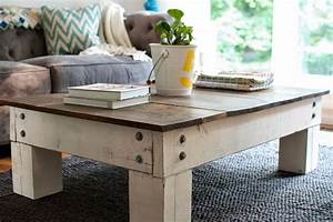 rustic farmhouse coffee table - Modern Classic Concept of