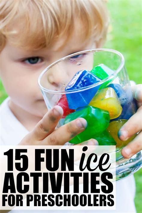 15 activities for preschoolers 743 | 15 ice activities for preschoolers
