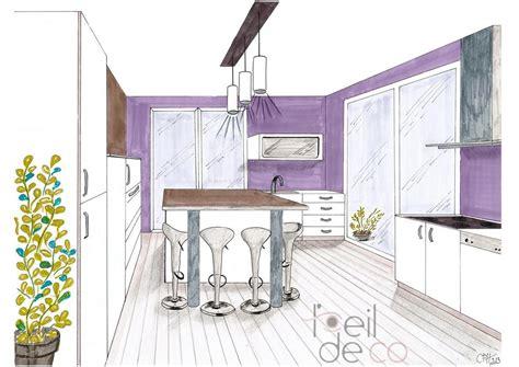 perspective cuisine cuisine en perspective photos de conception de maison