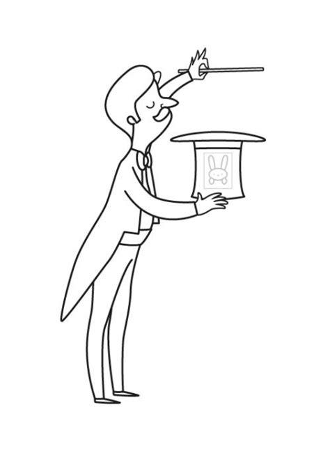 kostenlose malvorlage maerchen zauberer zum ausmalen zum