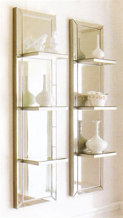 Bedroom Mirrors With Shelf by Horchow Mirrored Shelves Shelves Shelves