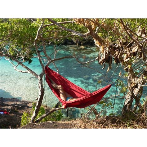 Take Me To The Moon Hammock by Ticket To The Moon Compact Single Hammock Burgundy