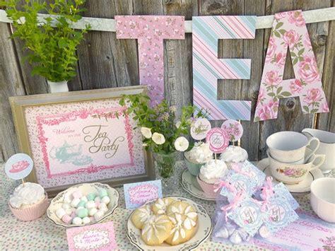 Kitchen Tea Party Invitation Ideas - tea party baby shower ideas baby ideas