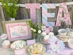 Tea Party Baby Shower Ideas - Baby Ideas