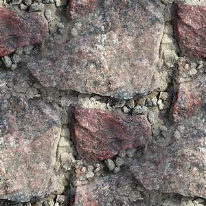 Red granite seamless texture to the edges of wallpaper ...
