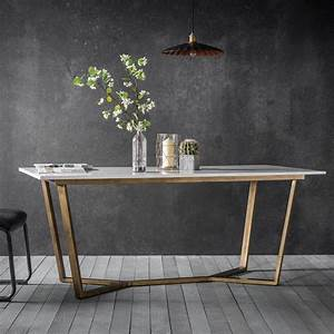 gatsby marble dining table white gold modern dining With dine your diner on marble dining table