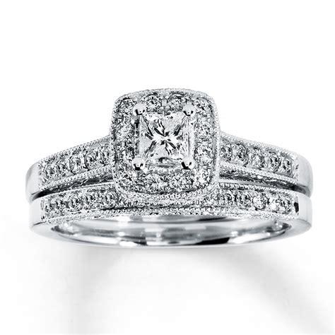 princess cut diamond wedding ring sets diamondstud